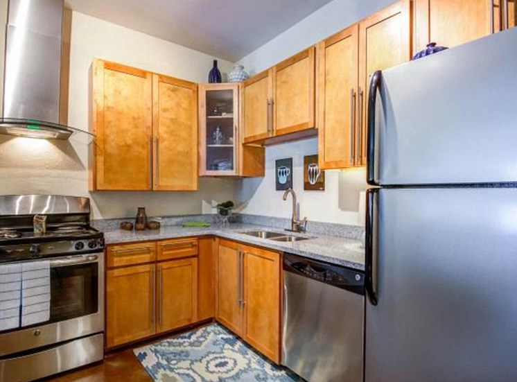 Kitchen Interior at NorthPoint at 68, High Point, 27265