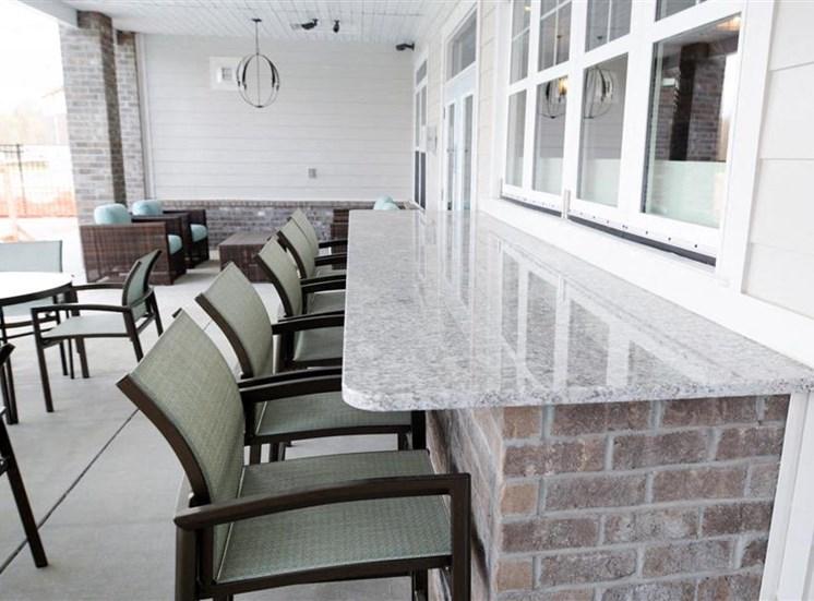 Outdoor Bar Area at NorthPoint at 68, North Carolina, 27265