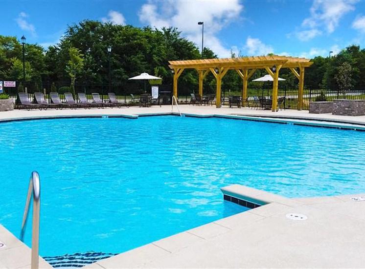 Beautiful Poolside Pergolas at NorthPoint at 68, High Point, North Carolina