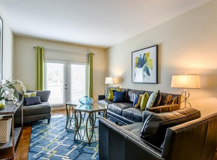 Custom Renovated Living Room at NorthPoint at 68, High Point, NC, 27265