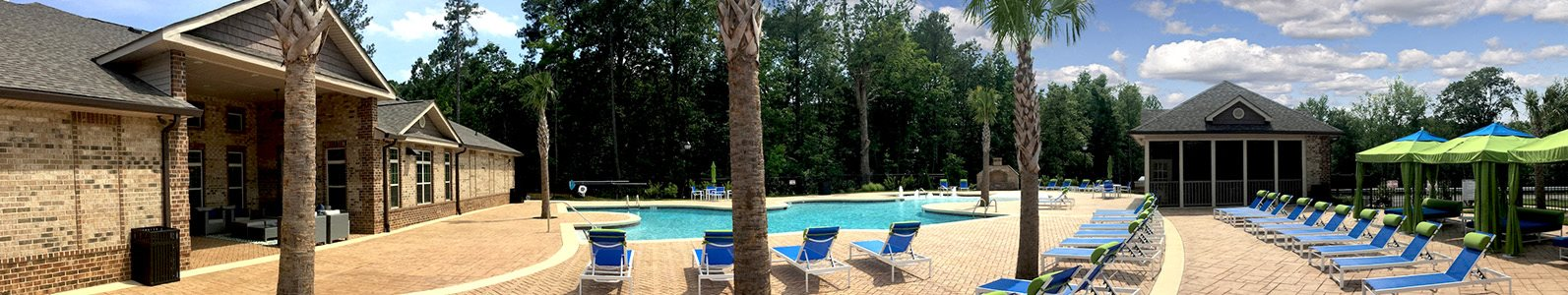 Sparkling Pool at Bacarra Apartments, Raleigh, NC, 27606