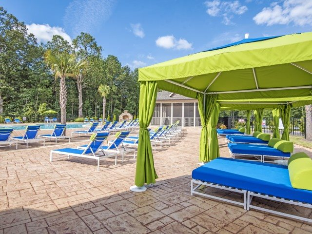 Poolside Cabana at Bacarra Apartments, Raleigh, NC