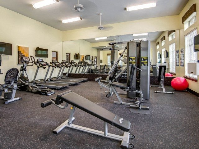 Fitness Center at Bacarra Apartments, Raleigh