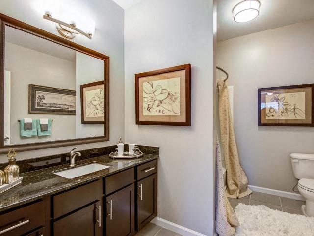 Spacious Bathroom at Bacarra Apartments, Raleigh, NC, 27606