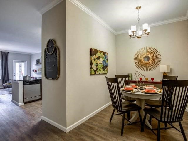 Dining Room at Bacarra Apartments, North Carolina, 27606