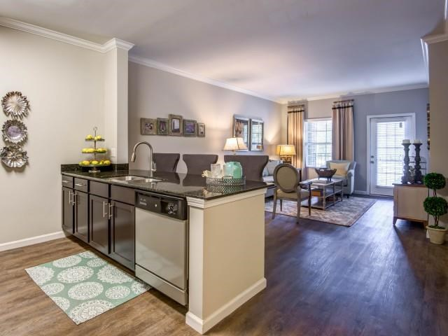 Eat-in Kitchen at Bacarra Apartments, Raleigh, North Carolina