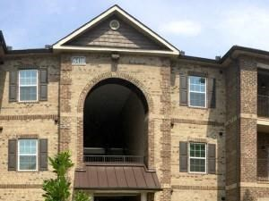 Apartment Entrance with Architectural Details at Bacarra Apartments, Raleigh, 27606