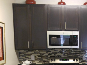 Kitchen Worktop at Bacarra Apartments, Raleigh, NC