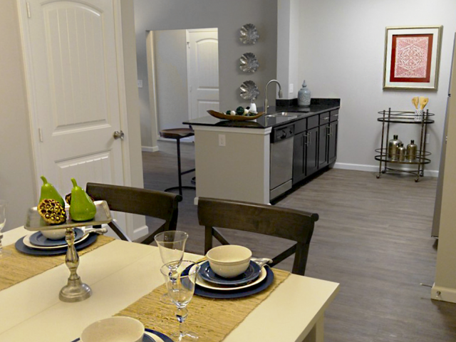 Eat-in Kitchen at Bacarra Apartments, Raleigh, 27606