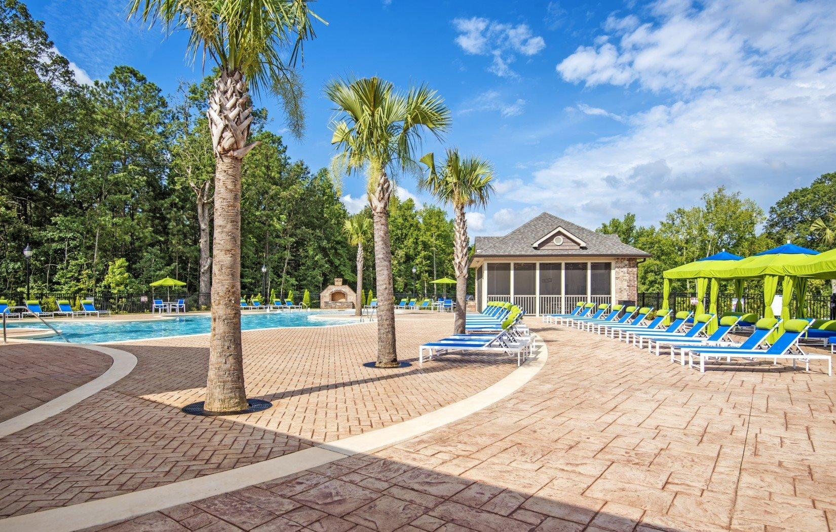 Resort-Style Pool at Bacarra Apartments, Raleigh, NC, 27606