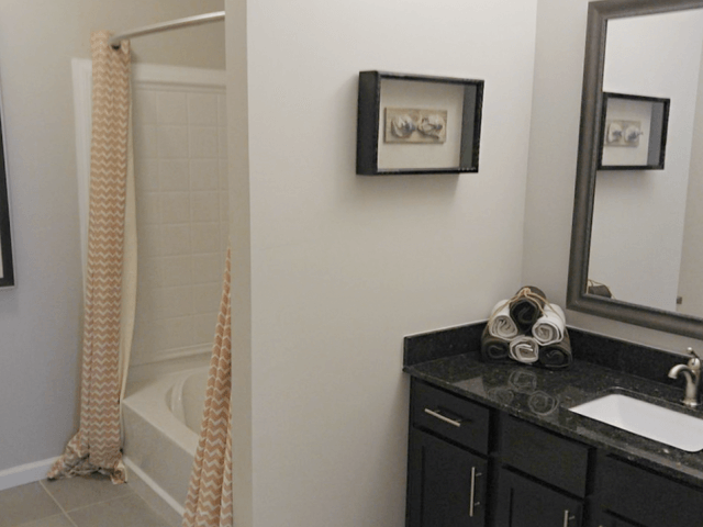Spacious Bathrooms at Bacarra Apartments, Raleigh, NC