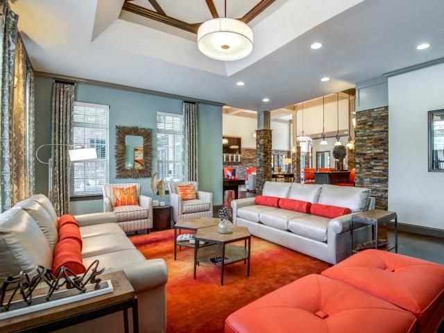 Upgraded Community Space Interiors at Bacarra Apartments, North Carolina, 27606