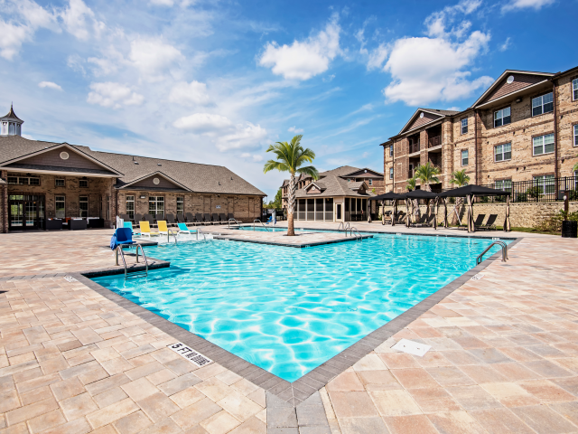 Sparkling Swimming Pool at Village at Town Center, Raleigh, NC, 27616