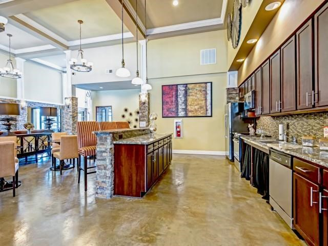 Gourmet Community Kitchen at Village at Town Center, Raleigh, North Carolina