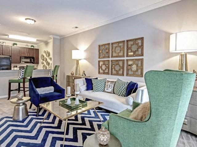 Living Rooms With High Ceilings at Village at Town Center, Raleigh, North Carolina