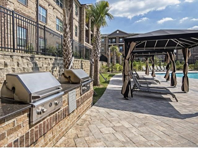 Outdoor BBQ and Picnic Area at Village at Town Center, Raleigh, NC