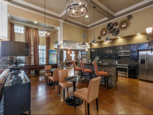 Community Clubhouse at Glass Creek Apartments, Tennessee