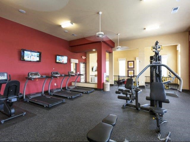 24 Hour Fitness Center at Glass Creek Apartments, Mt Juliet