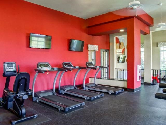 Fitness Center Equipment at Glass Creek Apartments, Tennessee, 37122