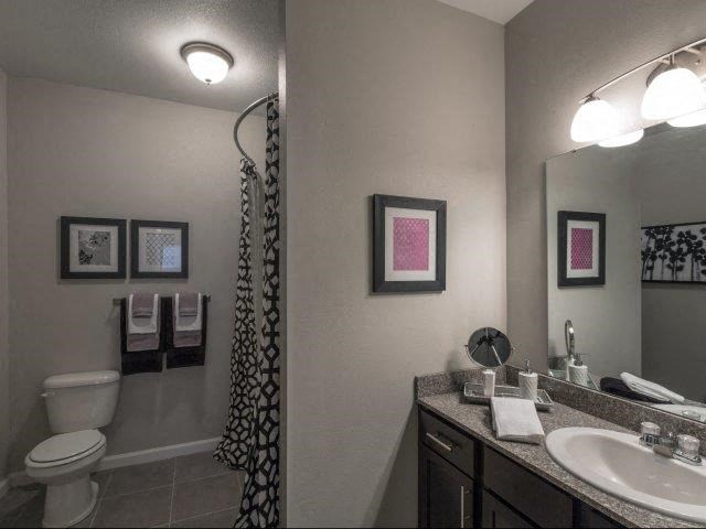 Custom Vanity Lightning at Glass Creek Apartments, Mt Juliet, Tennessee