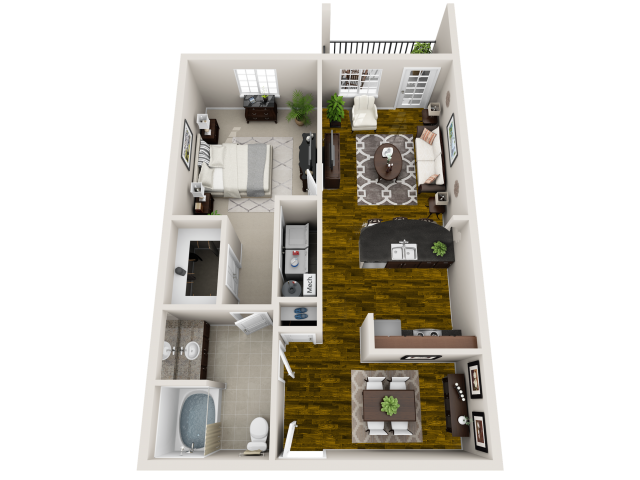 Floor plan at Everwood at the Avenue, Murfreesboro