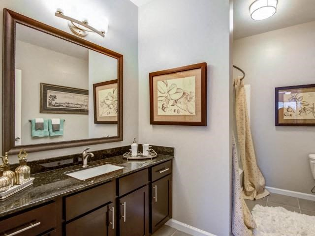 Framed Vanity Mirrors at Everwood at the Avenue, Murfreesboro, 37129