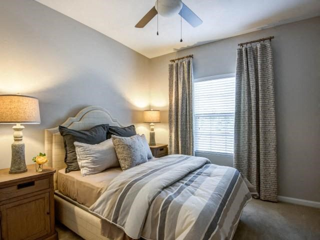 Ceiling Fan in Bedroom at Everwood at the Avenue, Murfreesboro, Tennessee