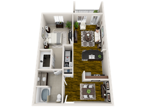 Floor plan at Heron Pointe, Nashville, 37214