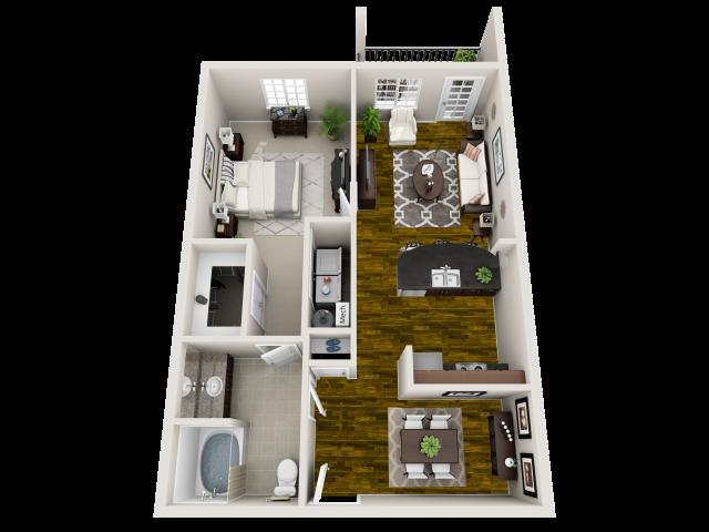 Floor Plan At Heron Pointe Nashville 37214