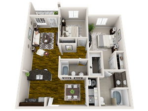 Floor plan at Heron Pointe, Tennessee