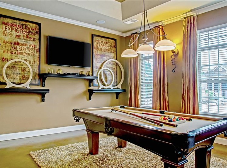 Billiards Game Room at Heron Pointe, Tennessee, 37214