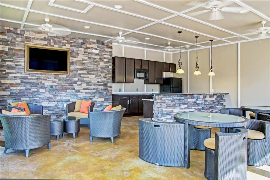 Clubroom with Catering Kitchen at Heron Pointe, Nashville, TN