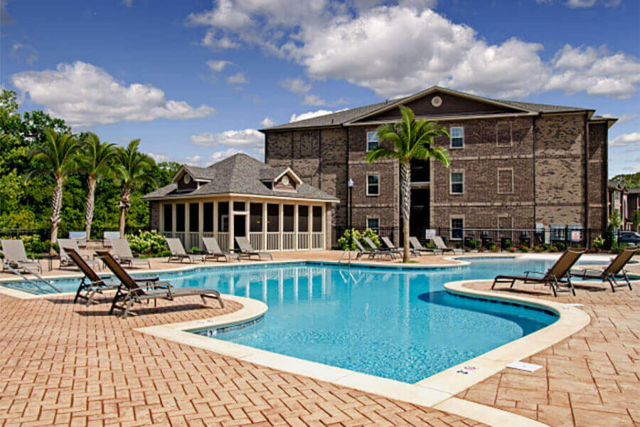 Sparkling Swimming Pool at Heron Pointe, Nashville, TN, 37214