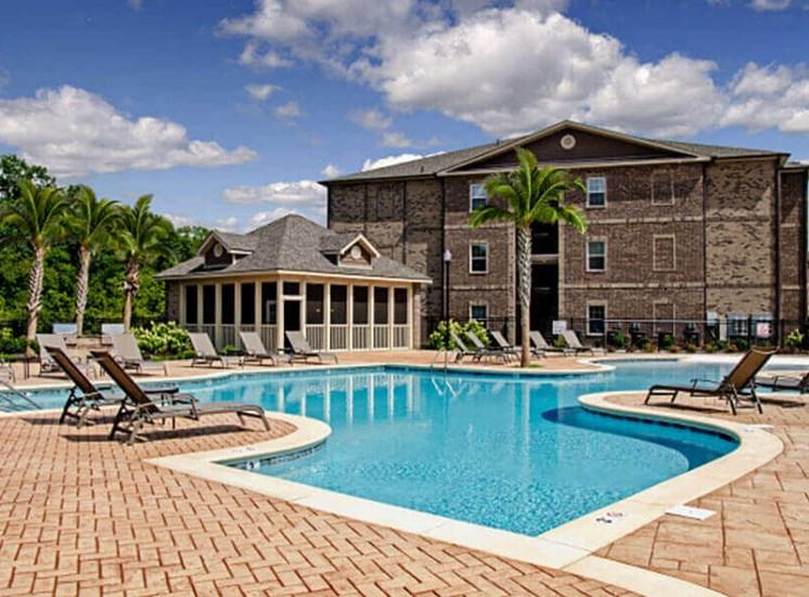 Sparkling Swimming Pool at Heron Pointe, Nashville, TN, 37214