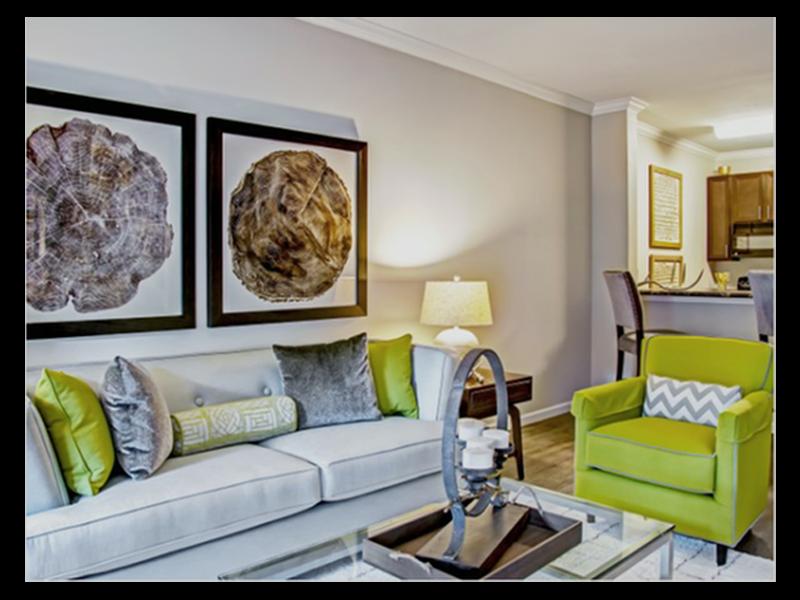 Redesigned Apartment Interior at Heron Pointe, Nashville