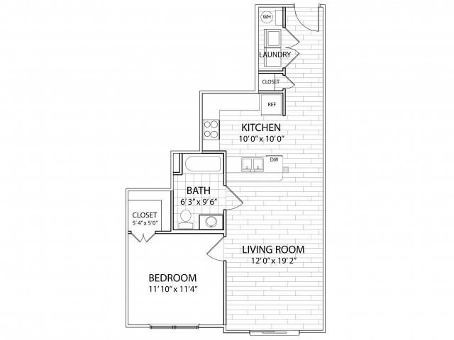 Crest Floor Plan at Arrington Ridge, Round Rock, TX