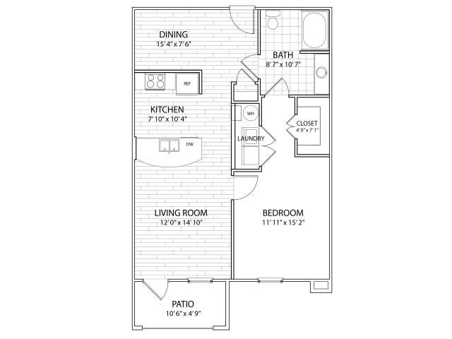 Summit Floor Plan at Arrington Ridge, Round Rock