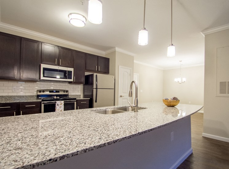 Modern Kitchen at Greymont Village Apartments- Asheville, NC