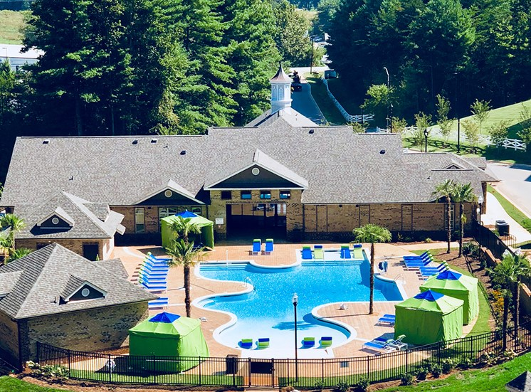 Sparkling Swimming Pool at Greymont Village Apartments