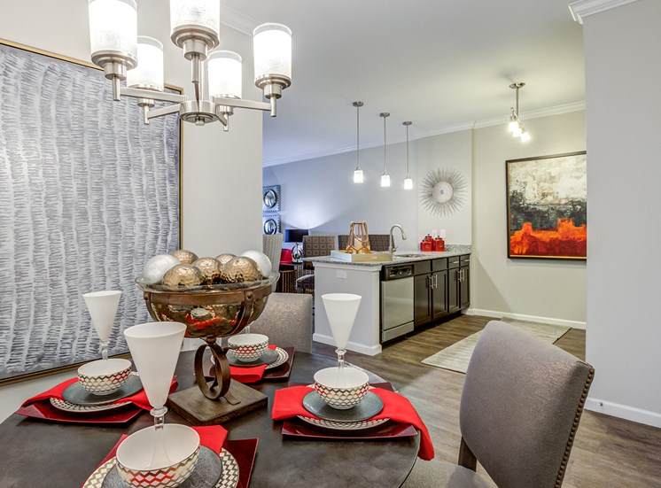 Dining Room at Greymont Village Apartments