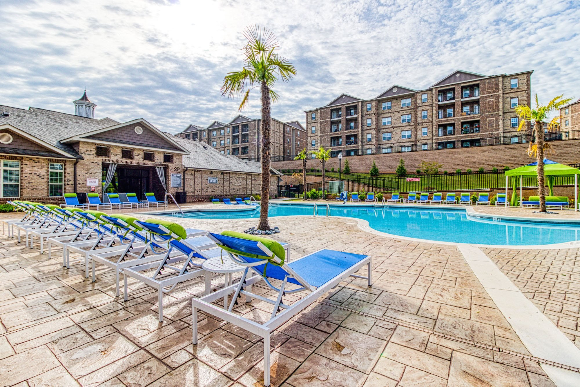 Resort-Inspired Pool at Greymont Village Apartments
