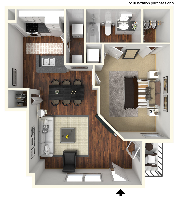 1 Floor Plan 3 Floor Plans of