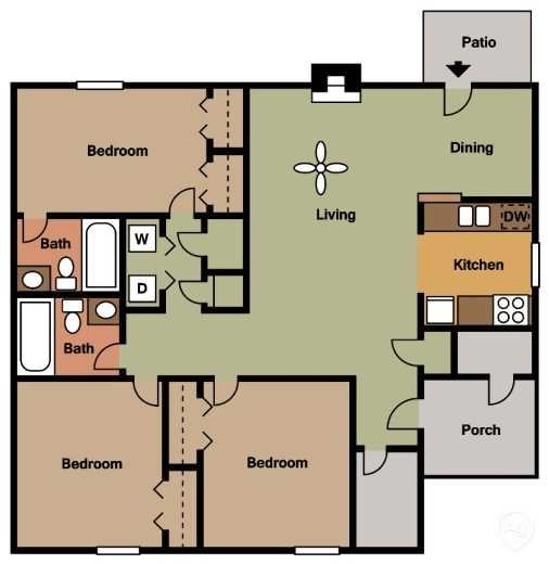 The Aspen Floor Plan 6