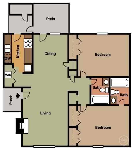The Laurel Floor Plan 4
