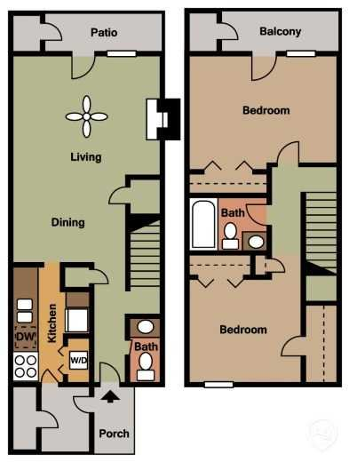 The Sycamore Floor Plan 3