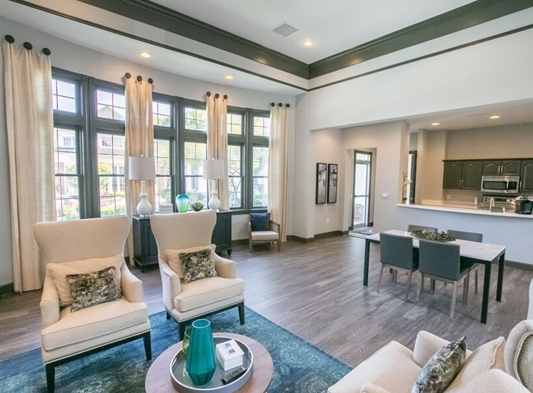 renovated clubhouse  at The Village at Avon Apartments in Avon, OH