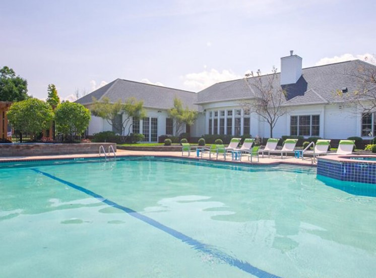 pool  at The Village at Avon Apartments in Avon, OH
