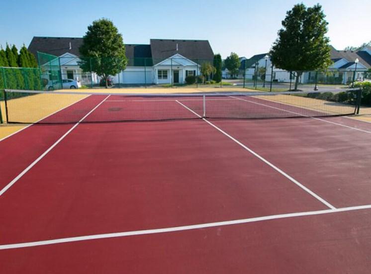tennis court  at The Village at Avon Apartments in Avon, OH