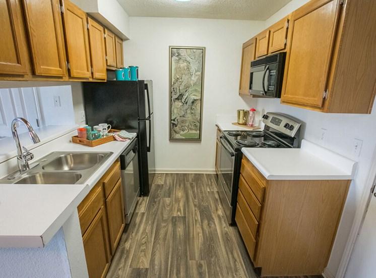 kitchen Williamsburg Townhomes in Sagamore Hills OH