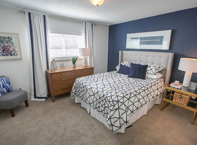 master bedroom Williamsburg Townhomes in Sagamore Hills OH